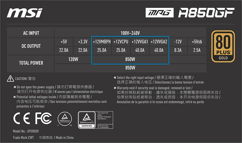 +12V Rail Power Supply
